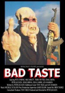 Mal gusto (Bad taste) de Peter Jackson (1987)