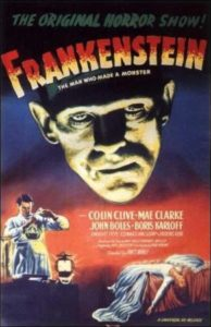 Frankenstein de James Whale  (1931)