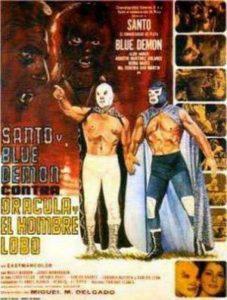 Santo y Blue Demon contra Drácula y el Hombre Lobo de Miguel M. Delgado (1972)